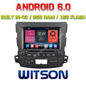Witson Quad-Core Android 6.0 Car DVD Player for Mitsubishi Outlander 2g RAM Bulit in 4G pictures & photos
