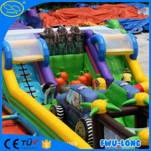 Double Dragon Inflatable Obstacle Course Tunnel