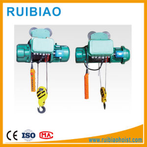 Double Hook Electric Hoist Wire Rope Hoist for Material Handling pictures & photos