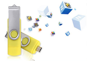 DIY OTG USB Flash Drive for Smart Phones and PC/Tablets pictures & photos