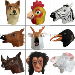 Latex Animal Mask Toy for Halloween Cosplay Promotion pictures & photos