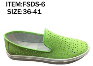 Latest Design Fashion Lady Leather Shoes Loafer Shoes Hollow out Shoes (FSDS-6) pictures & photos