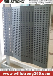 Circular Perforated Solid Plate for Cladding pictures & photos