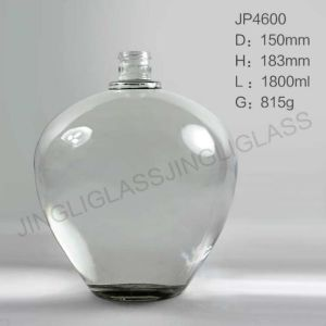 Used Clear Glass Magnum Wine Bottles for Sale pictures & photos