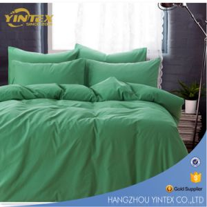 Solid Color Simple Design Printed Bedding Set pictures & photos