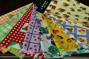 100% Polyester Printed Fabric, Mini Matt for Garment, Table Cloth Fabric, Kitchen Towel Fabric pictures & photos