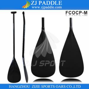 Full Carbon Fiber Bent Shaft Outrigger Canoe Paddle