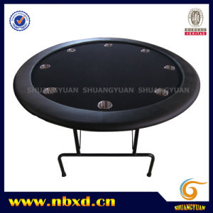 Round Poker Table with Iron Leg (SY-T21) pictures & photos