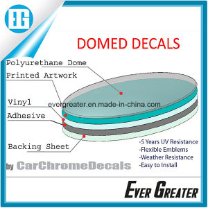 Customized Dome Label, Soft Bubble Sticker Domed Sticker, Customized PU Resin Stickers Custom 3D Dome Sticker pictures & photos
