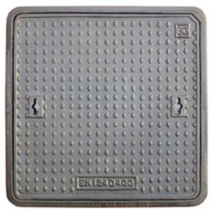 En124 D400 C250 B125 Ductile Iron Manhole Cover pictures & photos