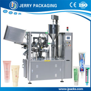 Automatic Cosmetic & Food Plastic & Aluminum & Metal Tube Filling Sealing Machine pictures & photos
