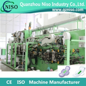 Half Servo High Speed Women Sanitary Pads Machine with Packing Machine pictures & photos