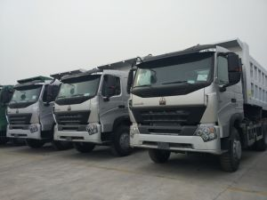10 Wheels 371HP Sinotruk 6X4 Truck HOWO A7 Tipper pictures & photos
