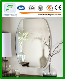 Clear Silver Mirror/ Bathroom Water-Proof Mirror/Decorated Mirror pictures & photos
