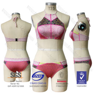 Bandage Neoprene Bikini Swimsuit Swimwear pictures & photos