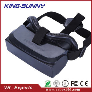 High Version New Game 3D Headset Vr Case Virtual Reality Vr Headset 3D Glasses Even Transfer 2D Game Image Into 3D for Phone PS4