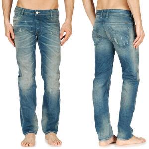 Wholesale New Fashion Men′s Pigment Dyed Denim Jeans pictures & photos
