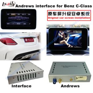 Car Android Navigation Interface for Benz C, Cla, Clk, B, a, E, Glc (NTG5.0) Upgrade Touch Navigation, WiFi, Bt, Mirrorlink, HD 1080P, Google Map pictures & photos
