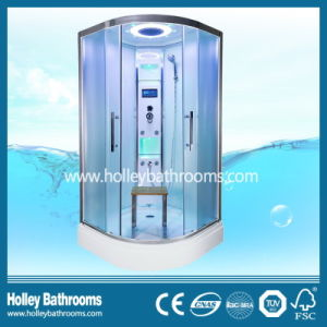 Salable Computerized Shower Room with Nano and Double Roller Wheel Sliding Door (SR214W) pictures & photos