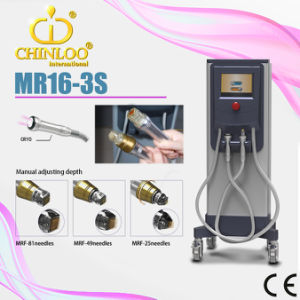 Non Invasive Srf Combine with Mrf and Cryo System for Skin Rejuvenation and Skin Tightening Beauty Machine (MR16-3S) pictures & photos