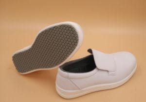ESD Super Anti-Slip White Safety Shoes