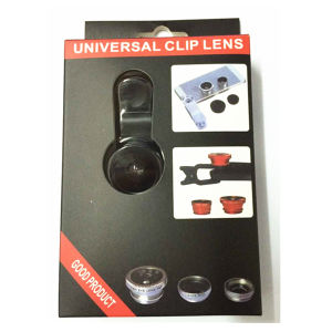 3 in 1 Universal Clip Cell Phone Camera Lens Kit pictures & photos