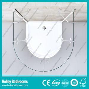 Hinger Door Circular Double Doors Selling Simple Shower Enclosure (SE713C) pictures & photos
