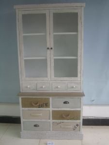 10 Drawer and 2 Door Modern Style Cabinet (FCJ04178)