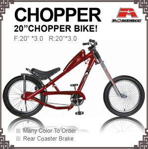 20 Inch Motor Bicycle Chopper Bike with Oil Box pictures & photos