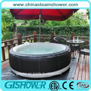 4 Person Round Portable Outdoor Inflatable SPA (pH050010) pictures & photos