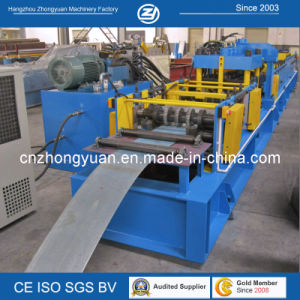 ISO 12 Warranty Purlin Roll Forming Machine pictures & photos