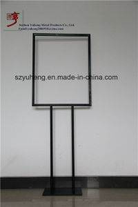 SGS Metal Poster Sign Holder/Simple Style Sign Advertisingstand