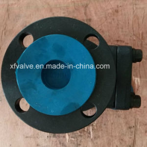 DIN Standard Forged Steel Flange Connection End Lift Check Valve pictures & photos