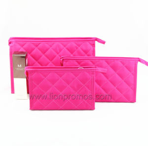 Lady Fashional Quilting Cosmetic Bag pictures & photos