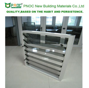 2017 New Modern Design Aluminium Profile Glass Louvers with As2047 pictures & photos