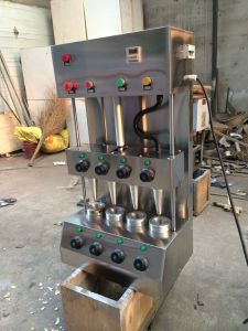 Factory Supply Pizza Cone Machine with Stainless Steel pictures & photos