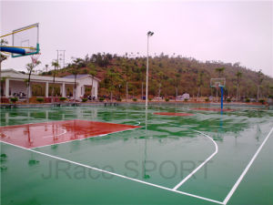 Water-Proof and UV Resistance Rubber Basketball Flooring pictures & photos