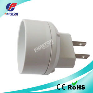 2pin Flat to Europe Socket Power Adaptor pH6-2017 pictures & photos