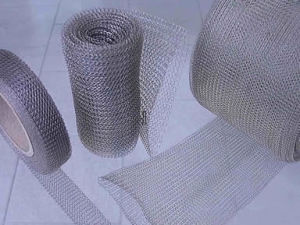 Stainless Steel Knitted Wire Mesh Filter China Factory pictures & photos
