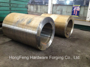 AISI Heavy Alloy Steel Forgings Forged Sleeve pictures & photos