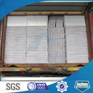 Gypsum Tile/Decorative PVC Gypsum Ceiling Tile (ISO, SGS)