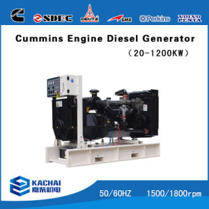 Equip Cummins Engine Assemble Genset for Sale