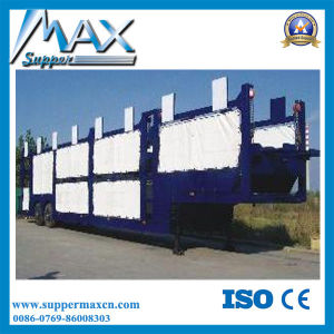 3-Axles Car Transport Truck/ Cheap Car Trailers/ Car Transporter Trailer Loading 12 Cars pictures & photos
