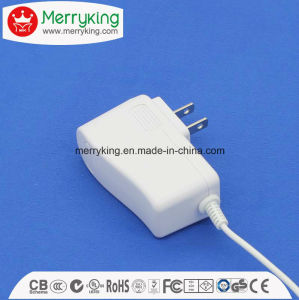 24V500mA AC DC Adapter with Us EU Au UK Plug UL FCC DOE VI GS BS Ce SAA PSE Approved pictures & photos