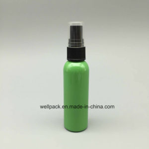 60ml Green Pet Plastic Bottle with Mist Sprayer pictures & photos