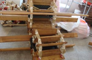 Top-Rated Marine Aluminum&Wooden Embarkation Rope Ladder pictures & photos