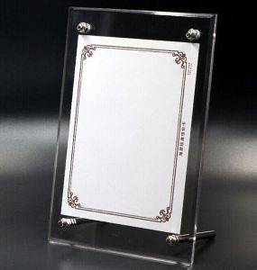 2016hot Sale Acrylic Frame Picture Frame Photo Frame Acrylic Photofunia Photo Frame pictures & photos