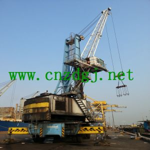 High Quality 30ton Marine Ship Deck Crane pictures & photos