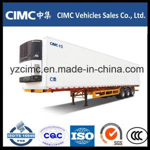 Cimc 13m 40FT 3 Axles Refrigerator Semi Trailer pictures & photos