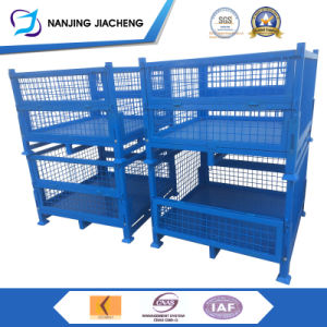 Qualified Stackable Steel Stillage with Powder Coated pictures & photos